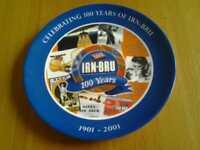Irn- Bru Plate by Wedgewood.