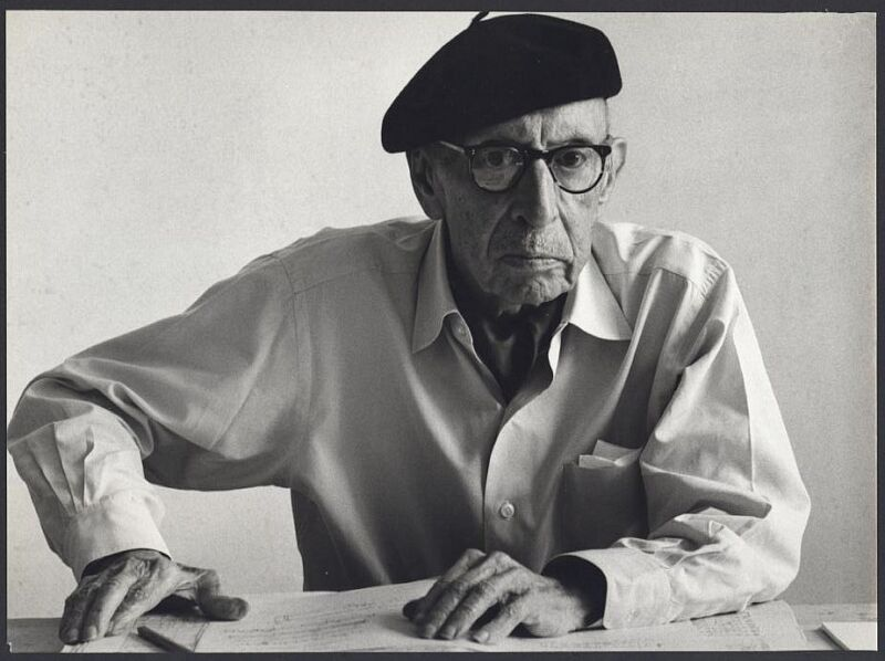Igor STRAVINSKY (Composer): Original Photo by Tony SNOWDON