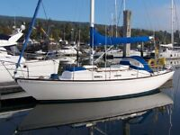 TWISTER 28 MK11A GRP VERY CAPABLE CRUISING YACHT, NANNI DIESEL £15950