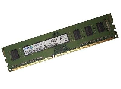 Samsung 8GB RAM DDR3 1600 Mhz PC3-12800U PC Speicher DIMM INTEL + AMD 1.5V