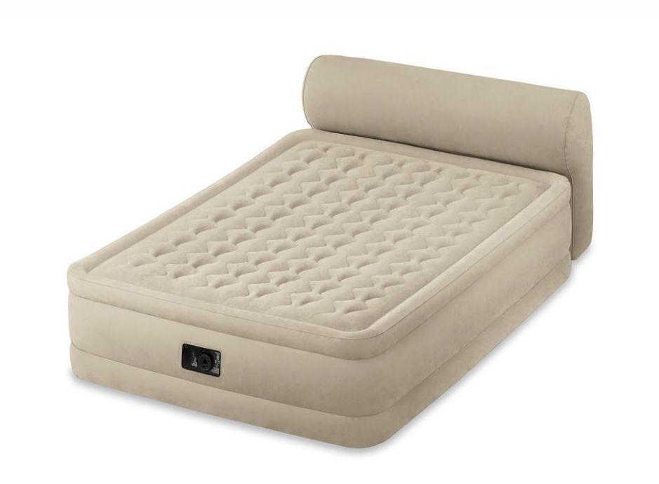 18 queen raised airbed plush air mattress