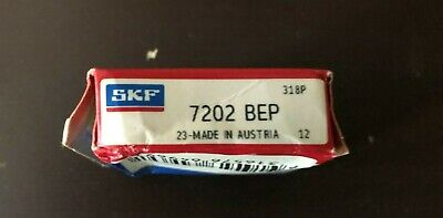 Skf 7202 Bep Angular Contact Bearing