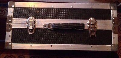 CHROMATIC/PIANO ACCORDION HARD METAL CASE-120 BASS-HEAVY DUTY-2 LOCKS-2 HANDLES!