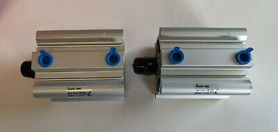 Lot Of 2 Smc Ncdq2a63-50dmz Compact Cylinders