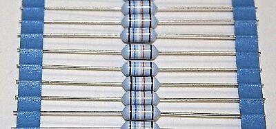 10 x PHILIPS 169k ohm 1 watt 1% Precision Metal Film Resistors 10 Yd Metallic Film