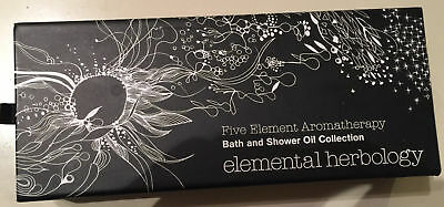 Shower Oil Collection - Elemental Herbology Five Element Aromatherapy Bath & Shower Oil Collection