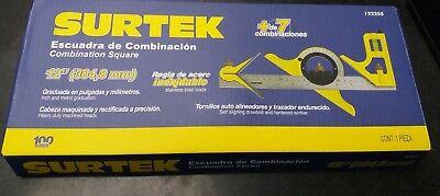 2 PC Starrett 11H-12-4R escuadra de Combinación Set