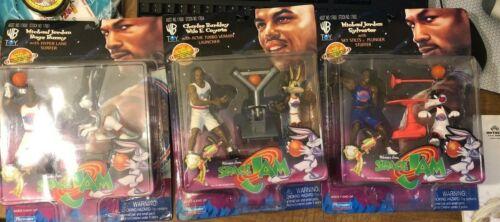 SpaceJam Action Figure Michael Jordan Lot Bugs Bunny WYLE E  Sylvester 1996 🏀