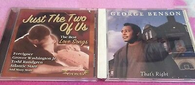 Thats Right George Benson CD & Just The Two Of Us George Washington Jr. Love (George Benson Just The Two Of Us)