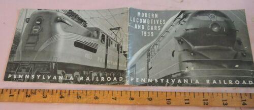 1939 NYWF Worlds Fair PRR Pennsylvania Railroad 32-pg Rolling Stock Brochure
