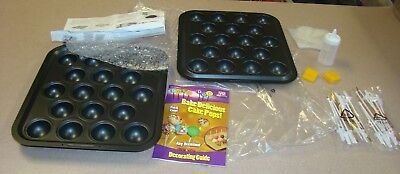 TeleBrands Bake Pop Cake Pops Baking Pan and Accessories](Pop Cake Accessories)
