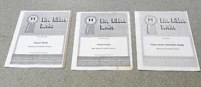 Set Of 3 Ih 340 Crawler Tractor Manuals Engine Clutchtransmissionfinal Drive