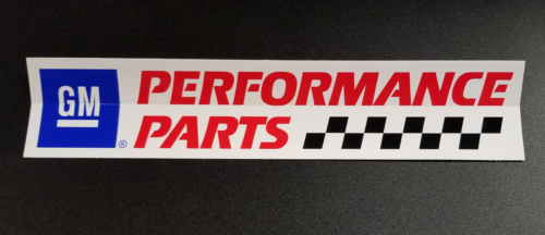 GM Performance Parts Original Vintage Racing 12