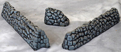 Barzso Accessory Stone Wall Set - Hand painted expanded foam resin - LAST SET