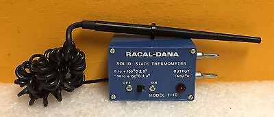 Racal-dana T-10 1 Mv 0 Output 0 To 100c - 2 Solid State Thermometer