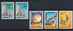 1983 AFRIQUE SENEGAL NEUFS ** MNH Y&T n° 589-590-591 599-600 - Italia - 1983 AFRIQUE SENEGAL NEUFS ** MNH Y&T n° 589-590-591 599-600 - Italia
