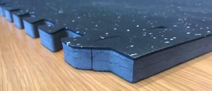 Rubber Top Garage Flooring Ideal Home Gym Mat/Tile