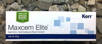 Maxcem Elite Clear Self-etch Self-adhesive Resin Cement Kerr 33872 Exp. 2020
