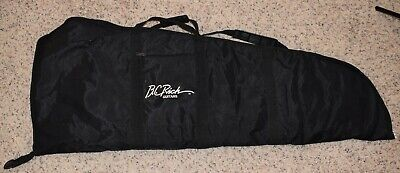 B.C. RICH Soft Case Gig Bag for Electric Guitar with Outer Zipper Compartment
