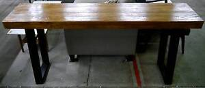 New Recycled Rustic Timber Hall Console Tables Industrial Metal Melbourne CBD Melbourne City Preview
