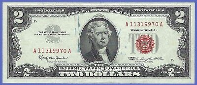 2 00 United States Note   1963   Granahan Dillon   Fr  1513   A11319970a