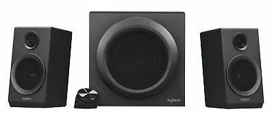 Logitech - Z333 2.1 Multimedia Speakers  - Black