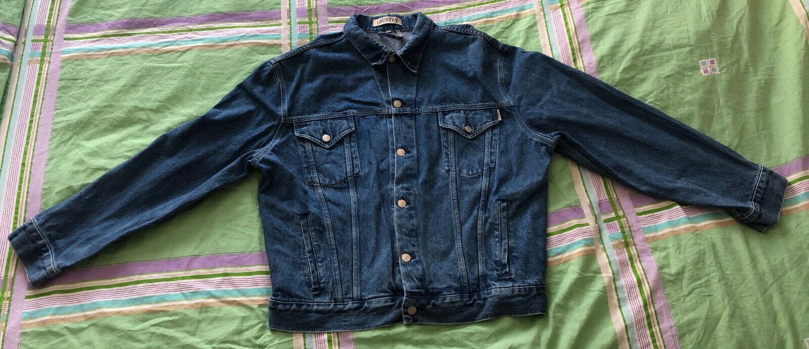 Veste en jean (taille xl)