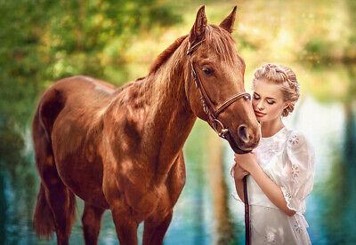Puzzle Liebe zum Pferd, 1000 Teile, Tier, Reiten, Reitsport, Castorland