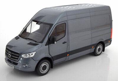 Norev 2018 Mercedes Benz Sprinter Delivery Van Grey Metallic 1/18 New Release! comprar usado  Enviando para Brazil