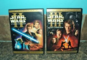 STAR WARS ATTACK OF THE CLONES / RETURN OF THE SITH