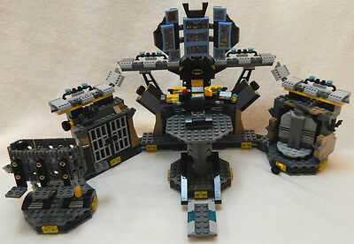 Incomplete Batcave From Lego Batman Movie Set 70909 Break In No Minifigs Vehicle
