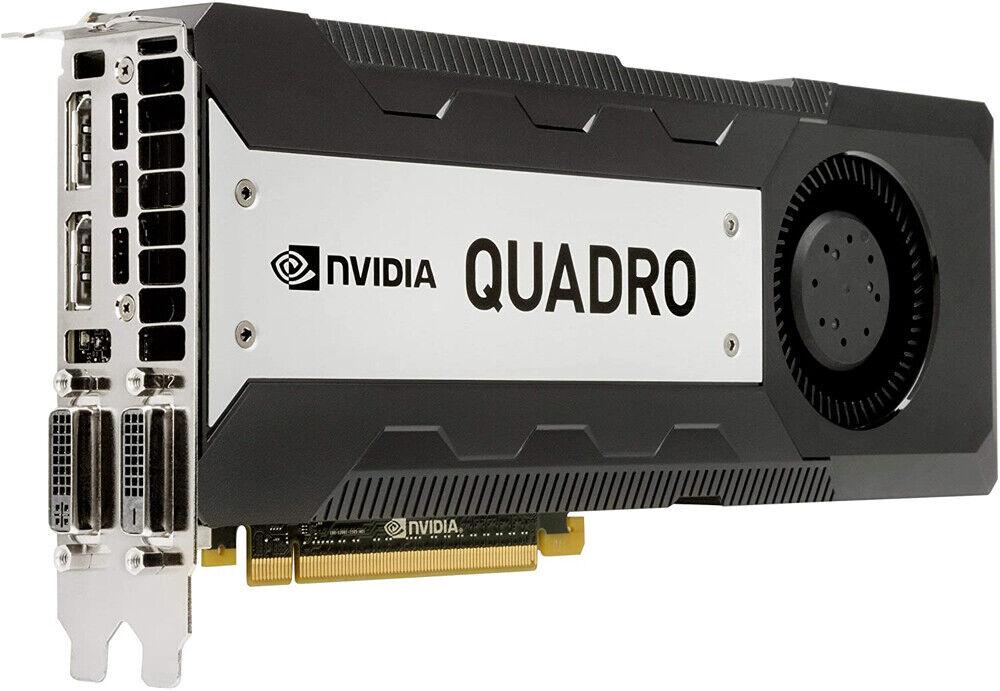 NVIDIA Quadro K6000 Grafikkarte für Workstation PC 3D CAD 12GB GDDR5 PCIe 3.0