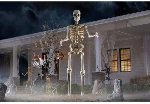 Arizona Pickup 12 Foot Tall Giant-Sized Skeleton with LifeEyes(TM) LCD Eyes