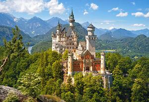 Castorland C-151424 Puzzle 1500 Teile Schloss Neuschwanstein