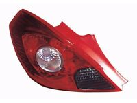 New Vauxhall Corsa rear light assembly