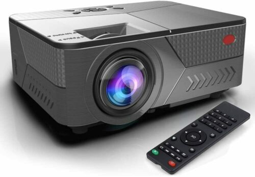Full HD 5200 Lumens 1080P Portable Home Theater Movie Video LCD Projector HDMI