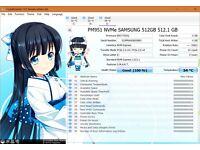 NEW Samsung PM951 512GB NVMe M.2 SSD