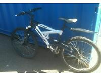 SARACEN SAVAGE FULL SUSPENSION MOUNTAIN BIKE
