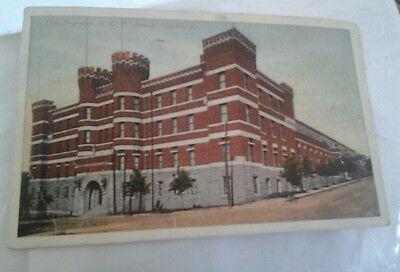 POSTCARD 13TH REGIMENT N. G. P. ARMORY SCRANTON,  PA. 1926