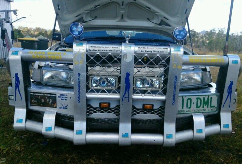 5 Post Bullbar Car Truck Parts Ebay