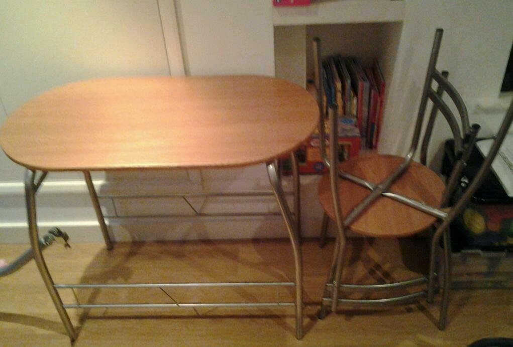small table and 2 chairs united kingdom gumtree