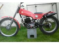 70s montesa cota 247 classic twinshock trials with spare engine