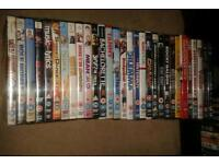 30 dvds in total, 6 new still sealed.