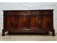 Georgian Style Sideboard (DELIVERY AVAILABLE FOR THIS ITEM OF FURNITURE)