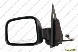 Door Mirror Power Driver Side Heated Fold Jeep Liberty 2002-2007