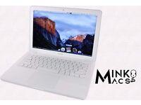 " 13"" Latest Apple MacBook Unibody 2.4Ghz 4gb 250GB Reason Ableton Cubase Logic Pro Microsoft Office"
