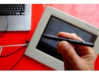 Wacom Cintiq PL 550 15X display Graphics Tablet