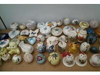 Old suitcase full of over 120 vintage pomanders ideal bedroom display 4 photos