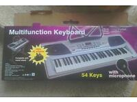 Multifunction Keyboard with Microphone
