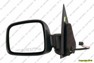 Door Mirror Power Driver Side Heated Fold Jeep Liberty 2002-2007